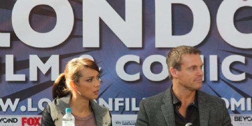 Lexa Doig and Michael Shanks
