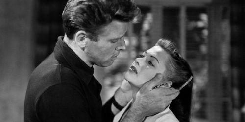 Yvonne De Carlo and Burt Lancaster