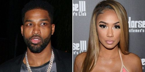 Tristan Thompson and Lani Blair