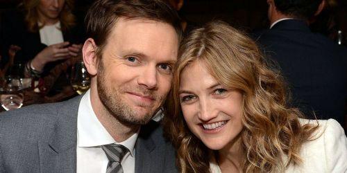 Joel McHale and Sarah Williams