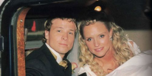 Brian Littrell and Leighanne Wallace