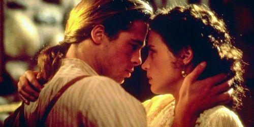 Brad Pitt and Julia Ormond