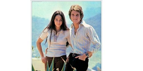 Olivia Hussey and Dean Paul Martin