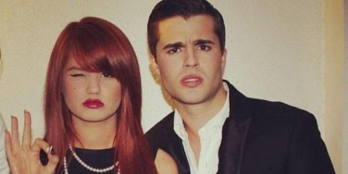 Spencer Boldman and Debby Ryan
