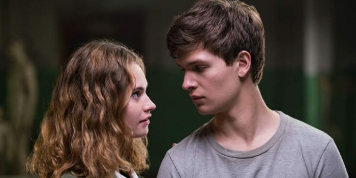 Ansel Elgort and Lily James