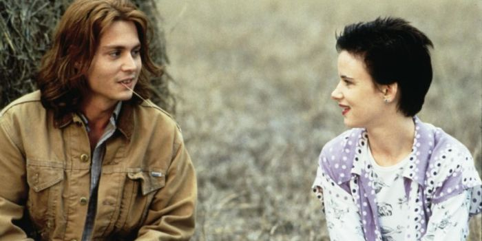 Juliette Lewis and Johnny Depp
