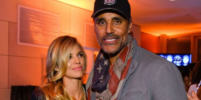 AnnaLynne McCord and Rick Fox