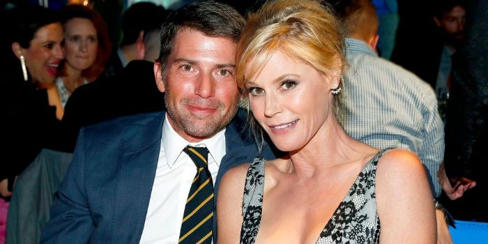 Scott Phillips and Julie Bowen