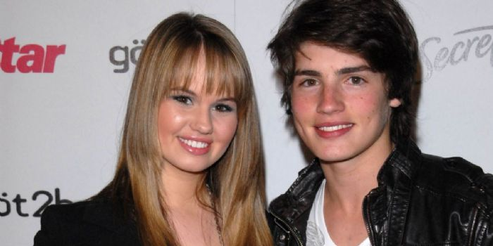 Debby Ryan and Gregg Sulkin