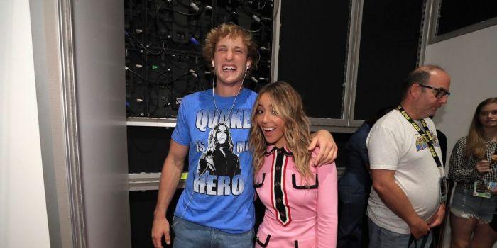 Chloe Bennet and Logan Paul
