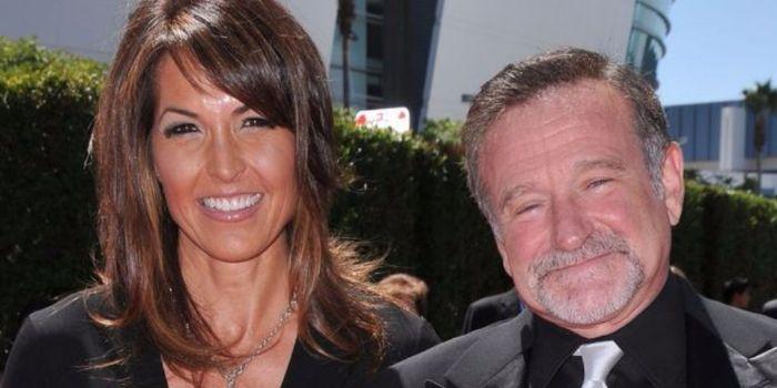Robin Williams and Susan Schneider