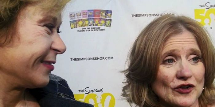 Yeardley Smith and Nancy Cartwright