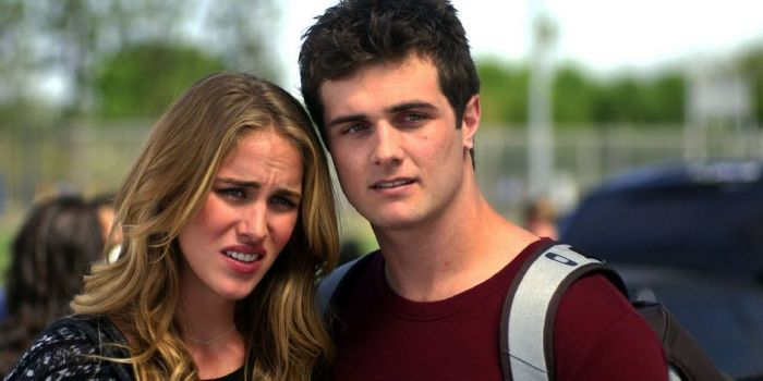 Beau Mirchoff and Elizabeth Whitson