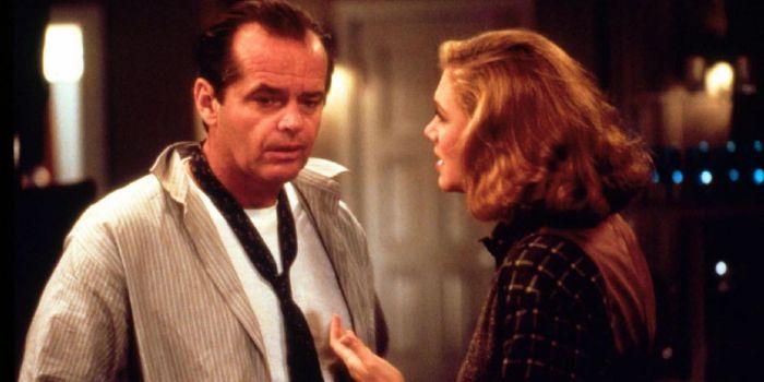 Jack Nicholson and Kathleen Turner