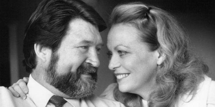 Derryn Hinch and Jacki Weaver
