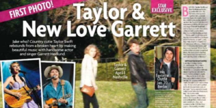 Taylor Swift and Garrett Hedlund