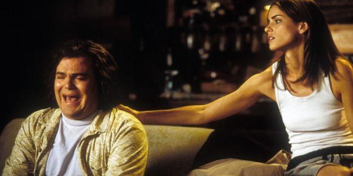 Jack Black and Amanda Peet