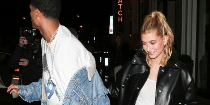 Hailey Baldwin and Jordan Clarkson