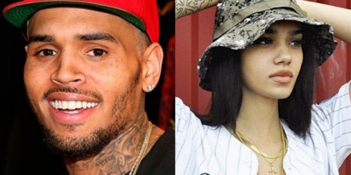 Chris Brown and Briona Mae