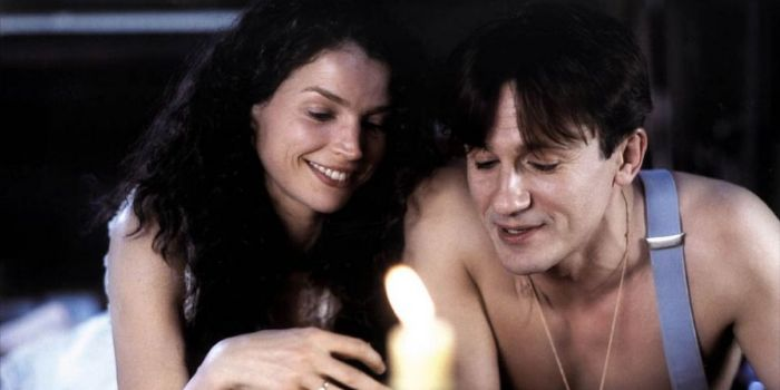 Julia Ormond and Oleg Menshikov