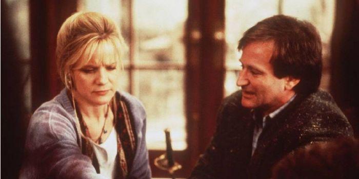 Bonnie Hunt and Robin Williams