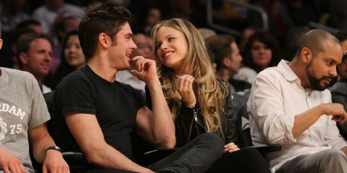 Zac Efron and Halston Sage