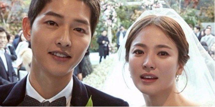 Joong-ki Song and Hye-kyo Song