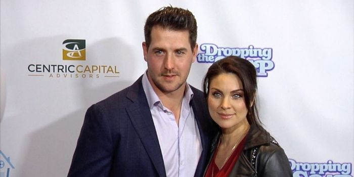 Nadia Bjorlin and Grant Turnbull