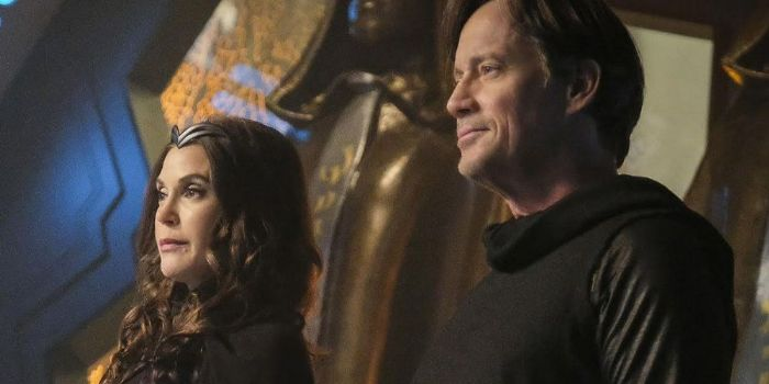 Kevin Sorbo and Teri Hatcher