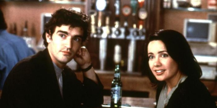 Janeane Garofalo and Ben Chaplin