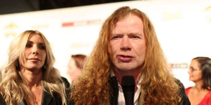 Dave Mustaine and Pamela Casselberry