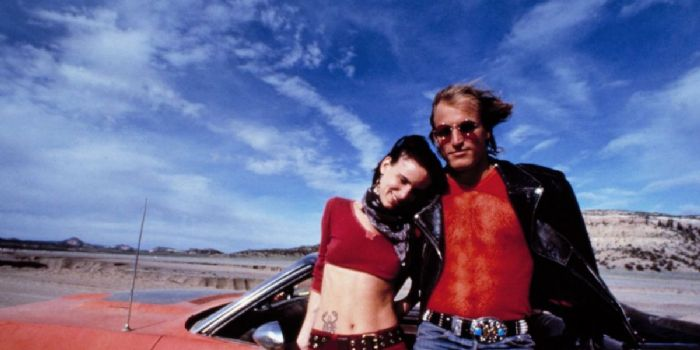 Juliette Lewis and Woody Harrelson