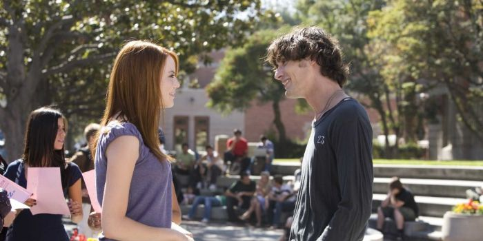 Emma Stone and Tyson Ritter