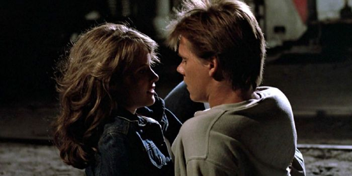 Kevin Bacon and Lori Singer