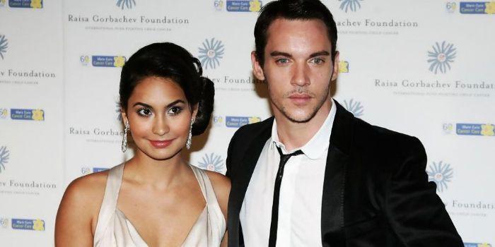 Jonathan Rhys-Meyers and Reena Hammer
