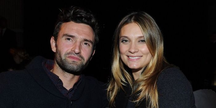 Actress Spencer Grammer and her husband James Hesketh
