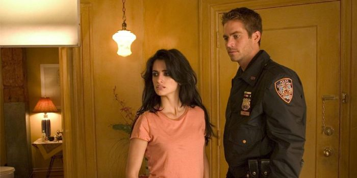 Penelope Cruz and Paul Walker