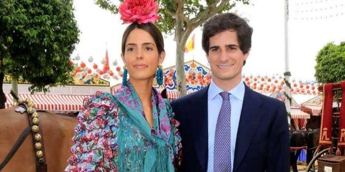 Fernando Fitz-James Stuart, 15th Duke of Huéscar and Sofia Palazuelo