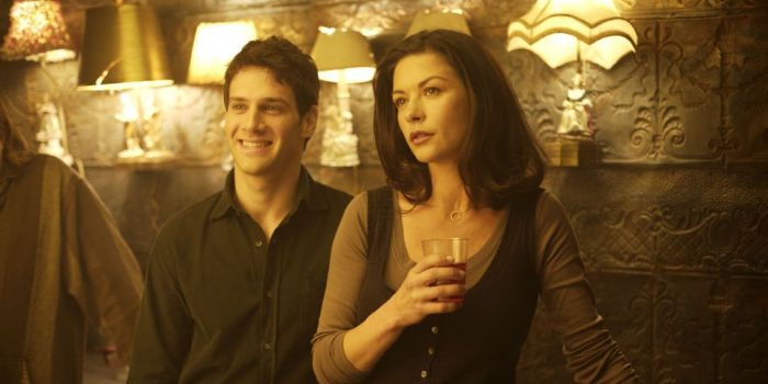 Catherine Zeta-Jones and Justin Bartha