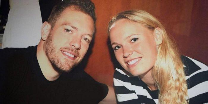Caroline Wozniacki and David Lee