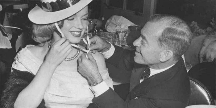 Marilyn Monroe and Johhny Hyde