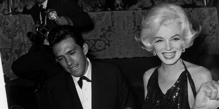 Marilyn Monroe and José Bolaños