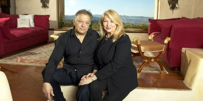 Nancy Kovack and Zubin Mehta