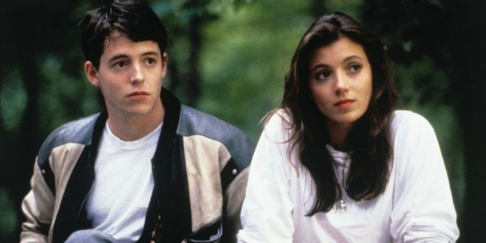 Matthew Broderick and Mia Sara
