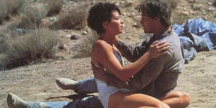Keanu Reeves and Lori Petty