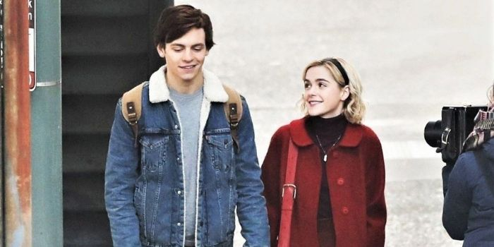 Kiernan Shipka and Ross Lynch