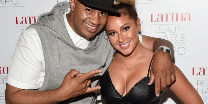 Adrienne Bailon and Lenny S