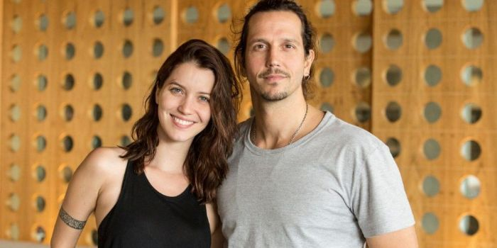 Vladimir Brichta and Nathalia Dill