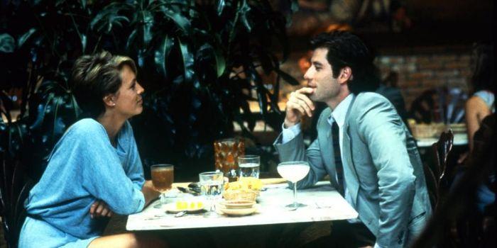 Jamie Curtis and John Travolta