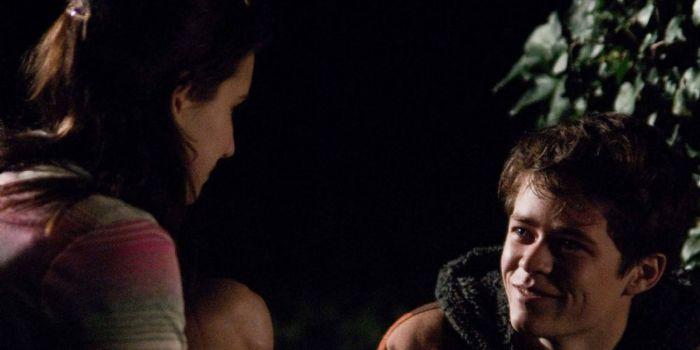 Emma Roberts and Harrison Gilbertson